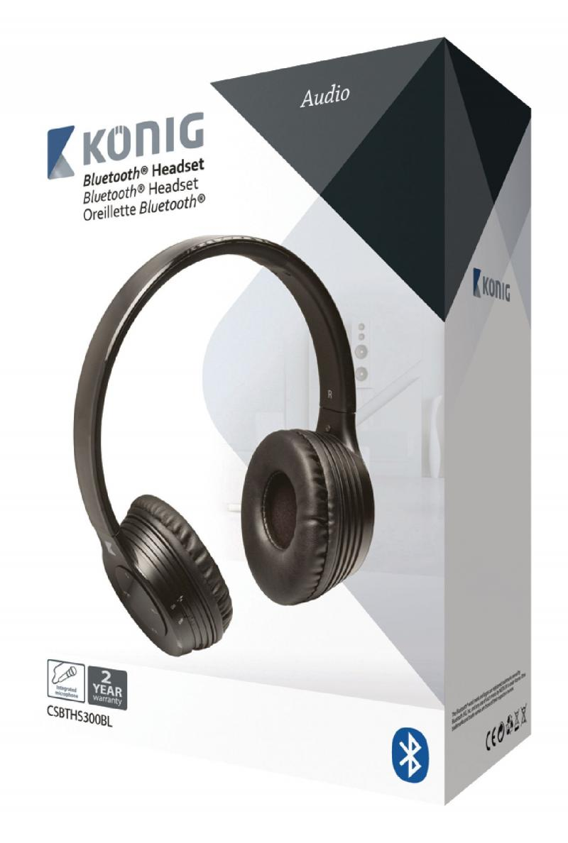 Auriculares 4.0 con Bluetooth® en negro