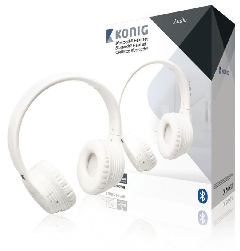 Auriculares 4.0 con Bluetooth® en blanco