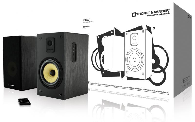 Kugel Juego de altavoces 2.0 Bluetooth 140W