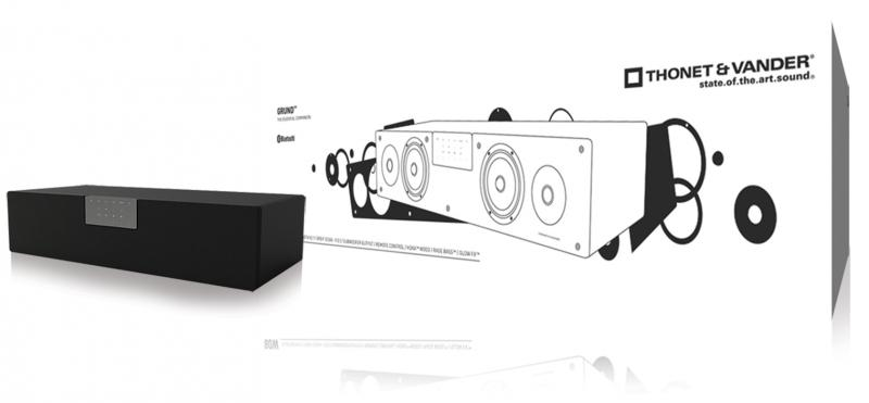 Grund Bluetooth Barra de sonido 80W